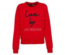 Sweater rot / schwarz