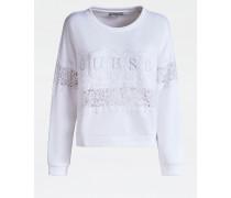 Sweatshirt weiß
