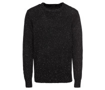 Pullover 'Crewneck pullover in wool blend quality with neps'