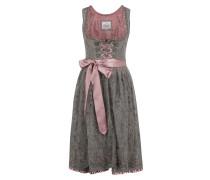 Kleid '014 Elrica' hellbraun / rosé