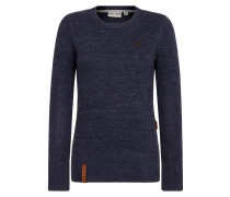 Knit Pullover blau