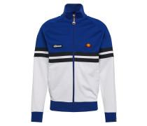 Jacke 'Rimini' blau / weiß