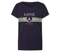 T-Shirt 'vibs' nachtblau