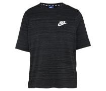 T-Shirt 'av15 TOP SS Knt' schwarz