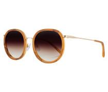 Sonnenbrille 'Jakob' braun / orange