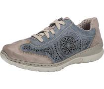 Sneakers beige / rauchblau