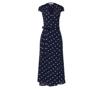 Kleid 'Polka Dot Wrap Dress Midi'