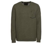 Sweatshirt 'Bullet' khaki
