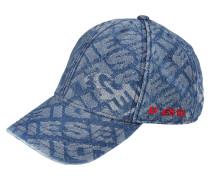 Cap in Jeansoptik 'c-Jacky' blau