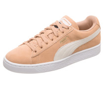 Sneaker 'Suede Classic' apricot / weiß