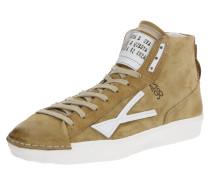 Sneaker 'mundial' weiß / hellbraun