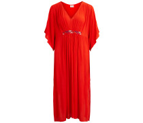 Kaftan Maxikleid orange