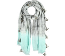 Baumwoll-Modal Schal grau