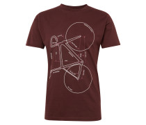 T-Shirt 'with printed bike - Gots'