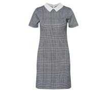 Kleid 'grey Pearl Collar Shift'