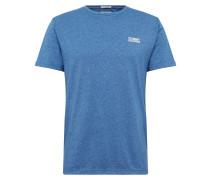 T-Shirt 'tjm Modern Jaspe Tee' blau