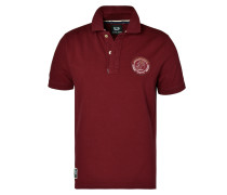 Polo Shirt 'German Classic' burgunder