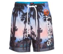 Badeshorts 'premium NEO Swim Short' blau