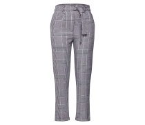 Hose 'Milly Tie Waist Woven Dogtooth Check Trousers'