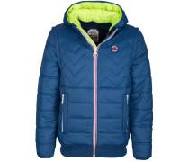 Jacke mit abnehmbaren Ärmeln blau