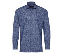 Langarm Hemd Modern FIT blau / navy