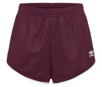 Shorts weinrot / weiß