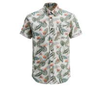 Blumenprint Kurzarmhemd