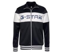 Sweater navy / schwarz / weiß