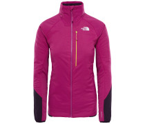 Outdoorjacke cyclam / schwarz