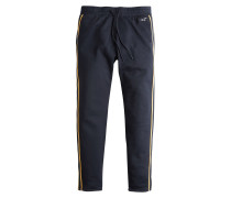 Hose 'tricot Tape Track' navy