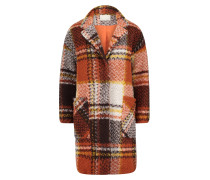 Mantel braun / orange