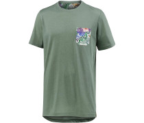 Printshirt oliv
