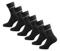Socken hellgrau / schwarz