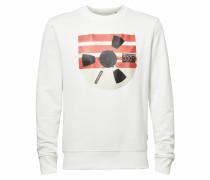 Sweatshirt ' Record Reel ' beige