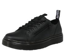 Sneaker 'Dante' mit Zipper schwarz