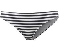 'Essentials' Bikini Hose Damen schwarz / weiß