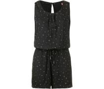 Jumpsuit 'Lea' schwarz / weiß