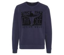 Sport-Sweatshirt nachtblau