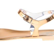 Sandaletten gold / rosé