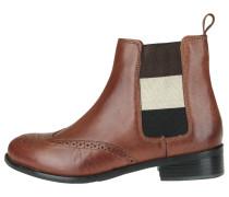 Chelsea Boots mit Kontraststreifen