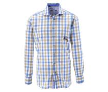 Trachtenhemd mit Hirsch-Druck