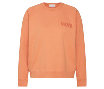 Sweatshirt 'jerri' orange