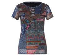 Shirt 'ts_Lucia' mischfarben / schwarz