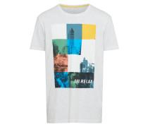 T Shirt mischfarben / offwhite