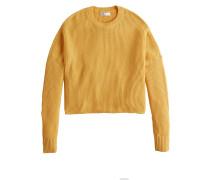 Sweatshirt 'crop Stripe Shaker Crew'