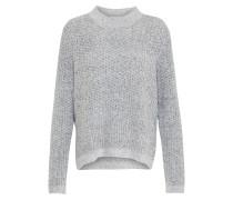 Grobstrick Pullover grau