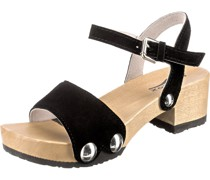Klassische Sandaletten schwarz