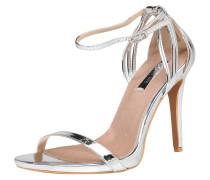 Sandalette 'lara' silber