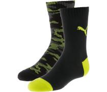 Socken gelb / schwarz