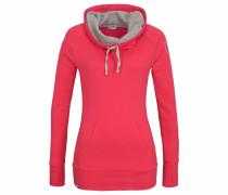 Sweatshirt grau / dunkelpink
